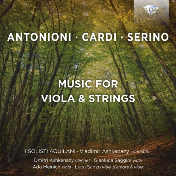 Antonioni, Cardi & Serino - Music for Viola & Strings