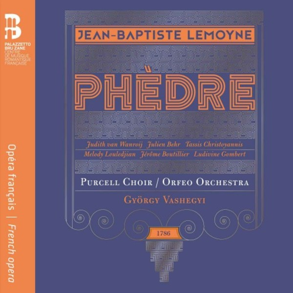 Lemoyne - Phedre (CD + Book)
