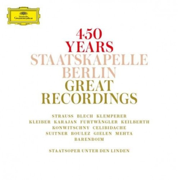 450 Years Staatskapelle Berlin: Great Recordings