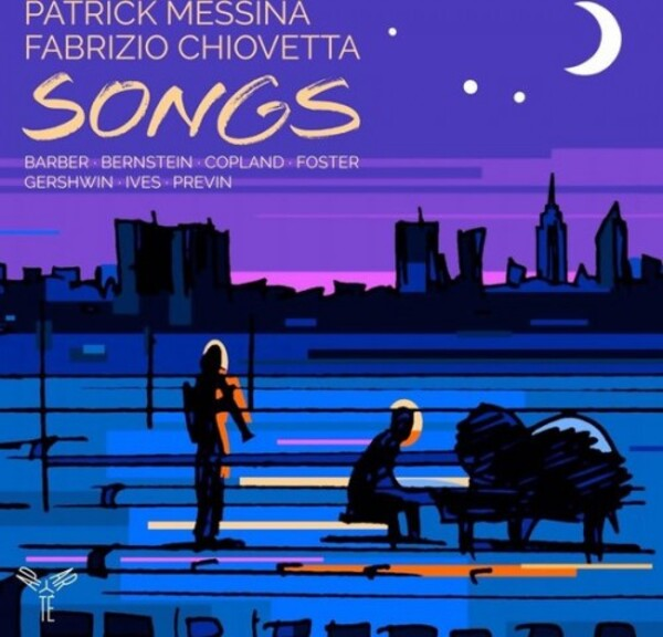 Songs: Barber, Bernstein, Copland, Foster, Gershwin, Ives, Previn