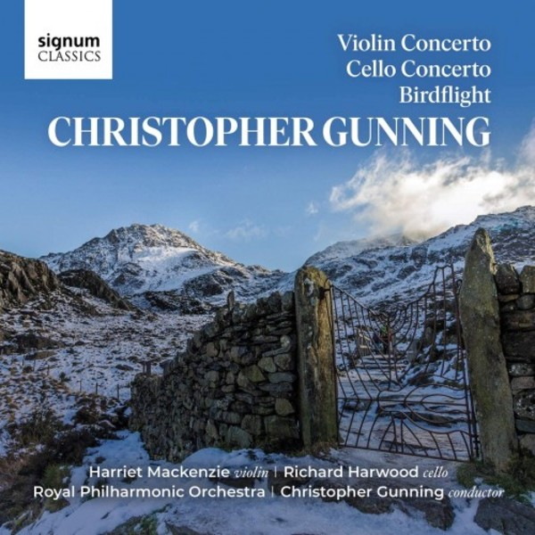 Gunning - Violin Concerto, Cello Concerto, Birdflight