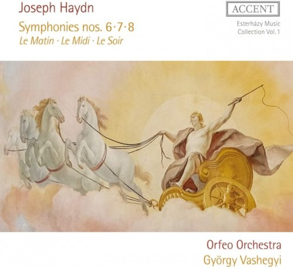 Esterhazy Music Collection Vol.1: Haydn - Symphonies 6, 7 & 8