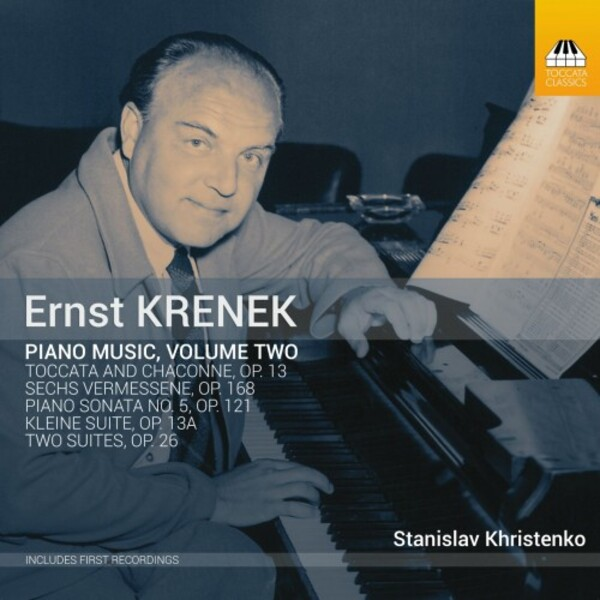 Krenek - Piano Music Vol.2