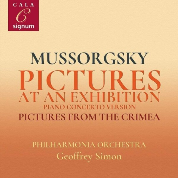 Mussorgsky - Pictures at an Exhbition, Pictures from the Crimea | Signum SIGCD2095