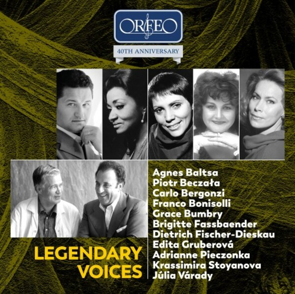 Orfeo 40th Anniversary Edition: Legendary Voices