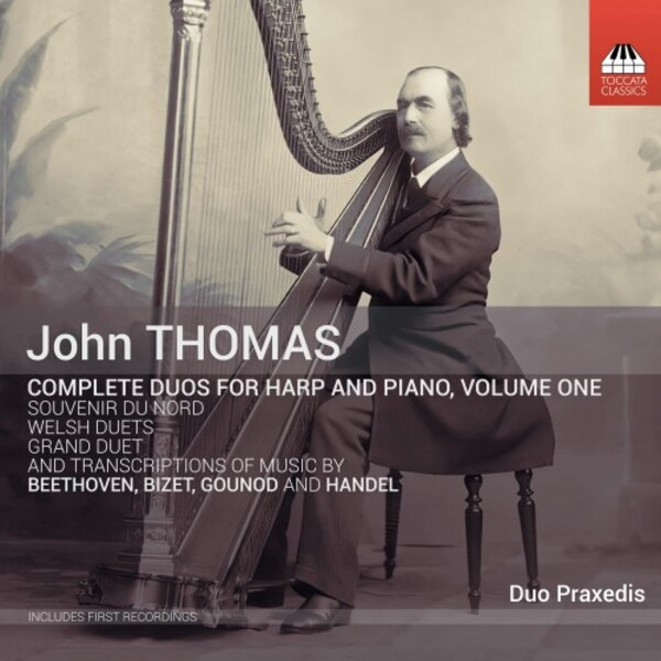 John Thomas - Complete Duos for Harp and Piano Vol.1