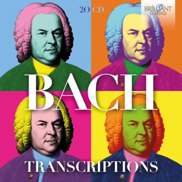 Bach Transcriptions | Brilliant Classics 95943