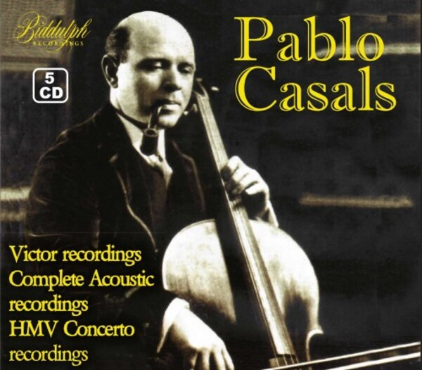 Pablo Casals Vintage Collection: Victor, Columbia Masters & HMV Concerto Recordings