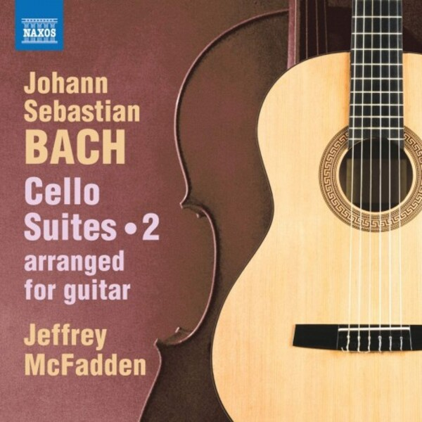 JS Bach - Cello Suites arr. for Guitar Vol.2