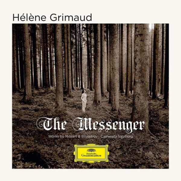 Helene Grimaud: The Messenger - Works by Mozart & Silvestrov (Vinyl LP)