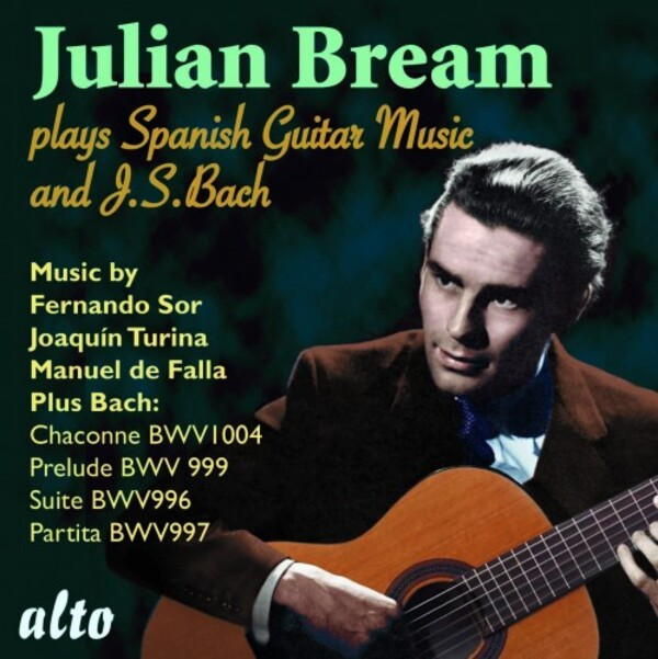 Julian Bream plays Spanish Guitar Music & JS Bach