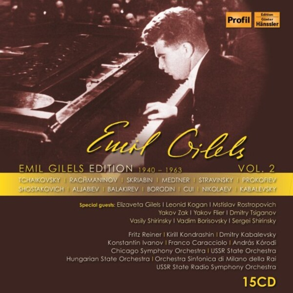 Emil Gilels Edition Vol.2 (1940-1963) | Profil PH17066
