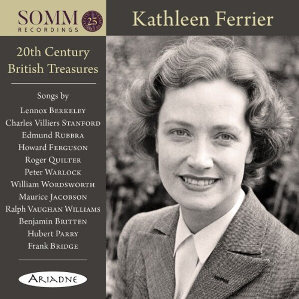 Kathleen Ferrier: 20th-Century British Treasures | Somm ARIADNE5010