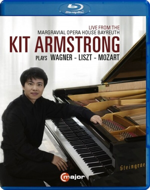 Kit Armstrong plays Wagner, Liszt & Mozart (Blu-ray) | C Major Entertainment 756604