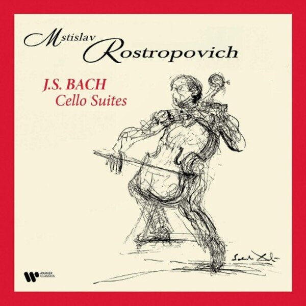 JS Bach - Cello Suites (Vinyl LP)