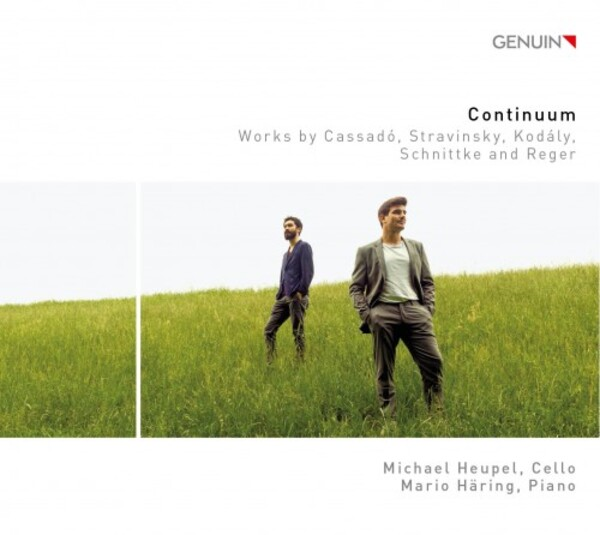 Continuum: Works for Cello & Piano by Cassado, Stravinsky, Kodaly, Schnittke & Reger