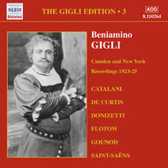 Gigli Edition vol.3 - Camden and New York Recordings (1923-1925) | Naxos - Historical 8110264