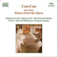 Can-Can and other dances from the Opera | Naxos 8550924